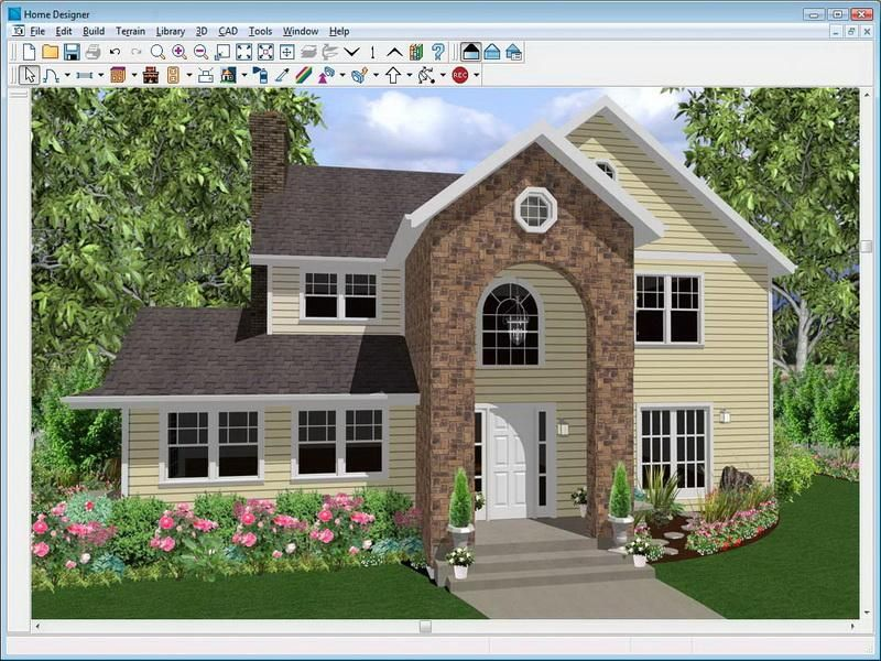 Yellow Virtual Home Designer