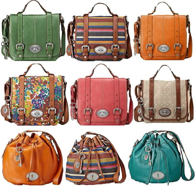 New school bag...brown or green