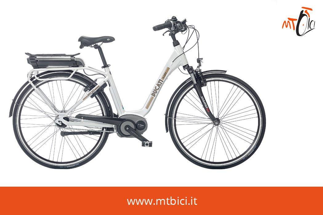 Ebike E City Unisex 28 7v Ducati E City è La Bicicletta Elettrica
