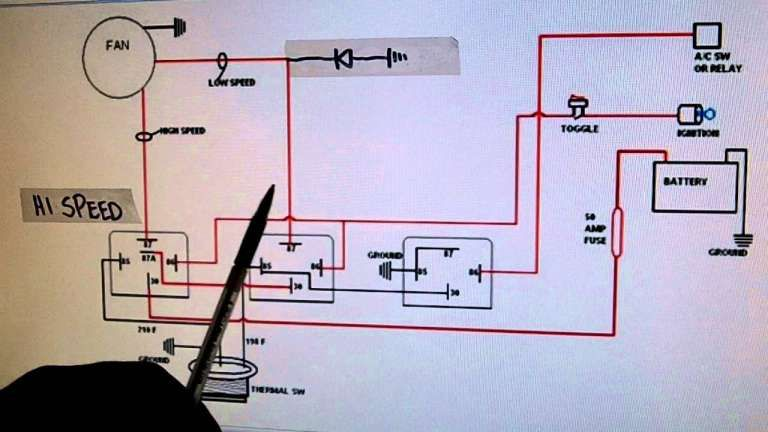 12 Electric Cooling Fan Wiring Diagram Electric Cooling Fan Electric Radiator Fan Radiator Fan