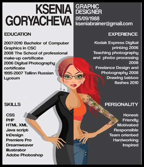 Different types of resumes such an inspiring idea ♡ DIY - types of resumes