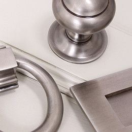 Antique Nickel Maintenance - click to read more about caring for this beautiful new finish for front door furniture - made in England.