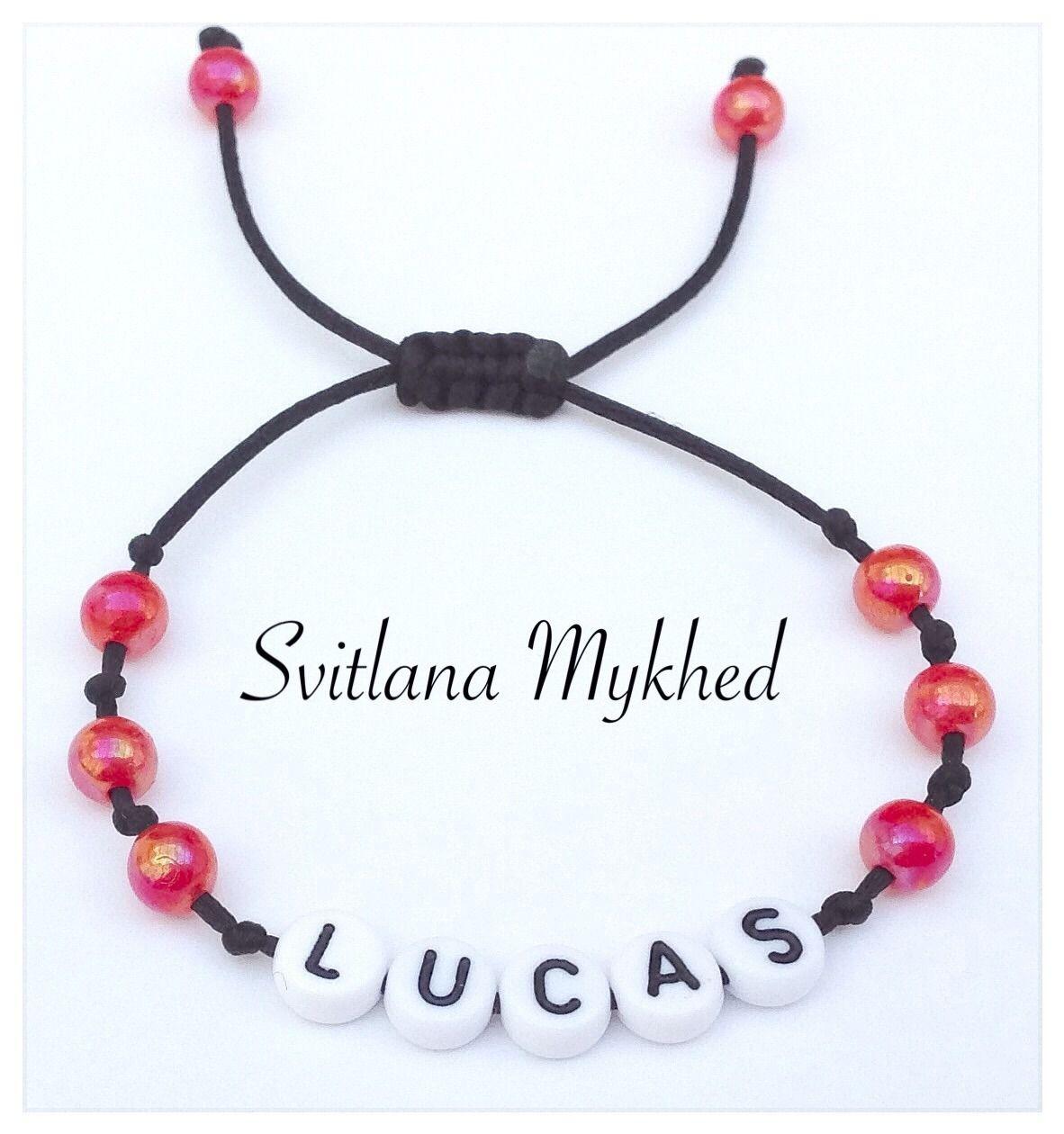 bracelet perle prenom