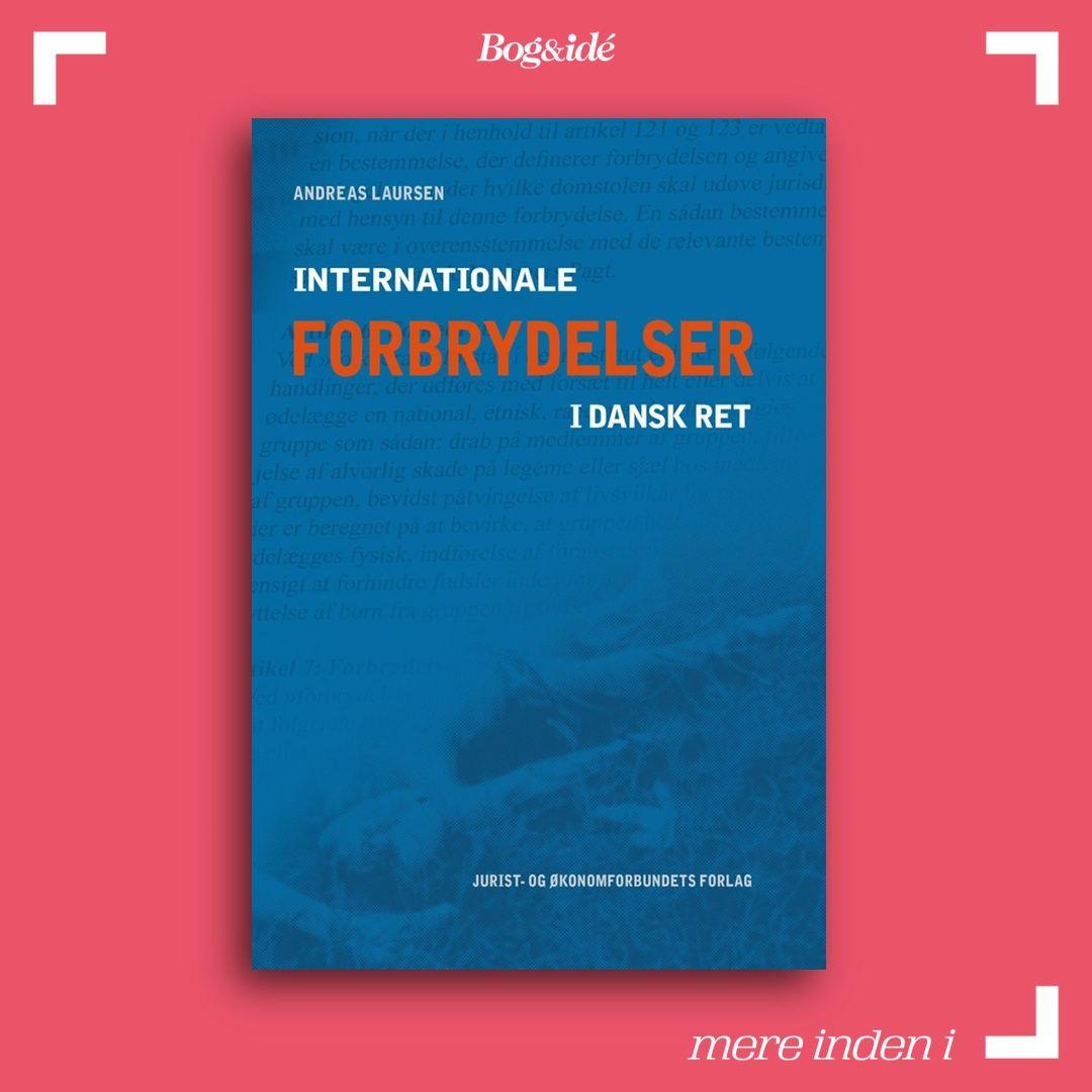 Den Internationale Straffedomstol kan snart fejre 10 års jubilæum som aktiv domstol. De nationale straffesystemer er imidlertid forblevet de primære fora, når det gælder retsforfølgning af internationale forbrydelser, herunder kerneforbrydelserne folkedrab, forbrydelser mod menneskeheden og krigsforbrydelser. Bogen undersøger bl.a. om de centrale internationale forbrydelser kan straffes efter dansk ret og er en tilbundsgående undersøgelse af, om der eksisterer de påkrævede og tilstrækkelige mate