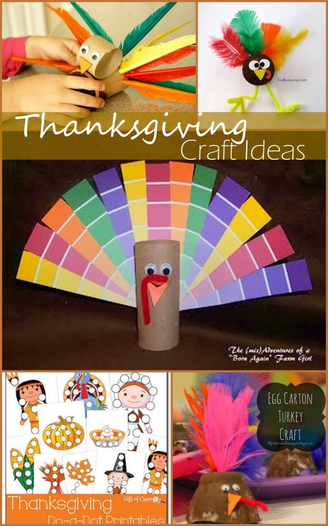 Fun And Easy Thanksgiving Craft Ideas For Kids Crafts