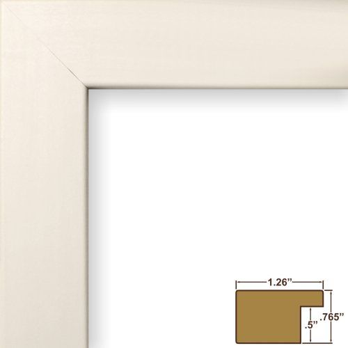 Craig Frames 26021 8.5 by 11-Inch Picture Frame, Smooth Finish, 1.25 ...