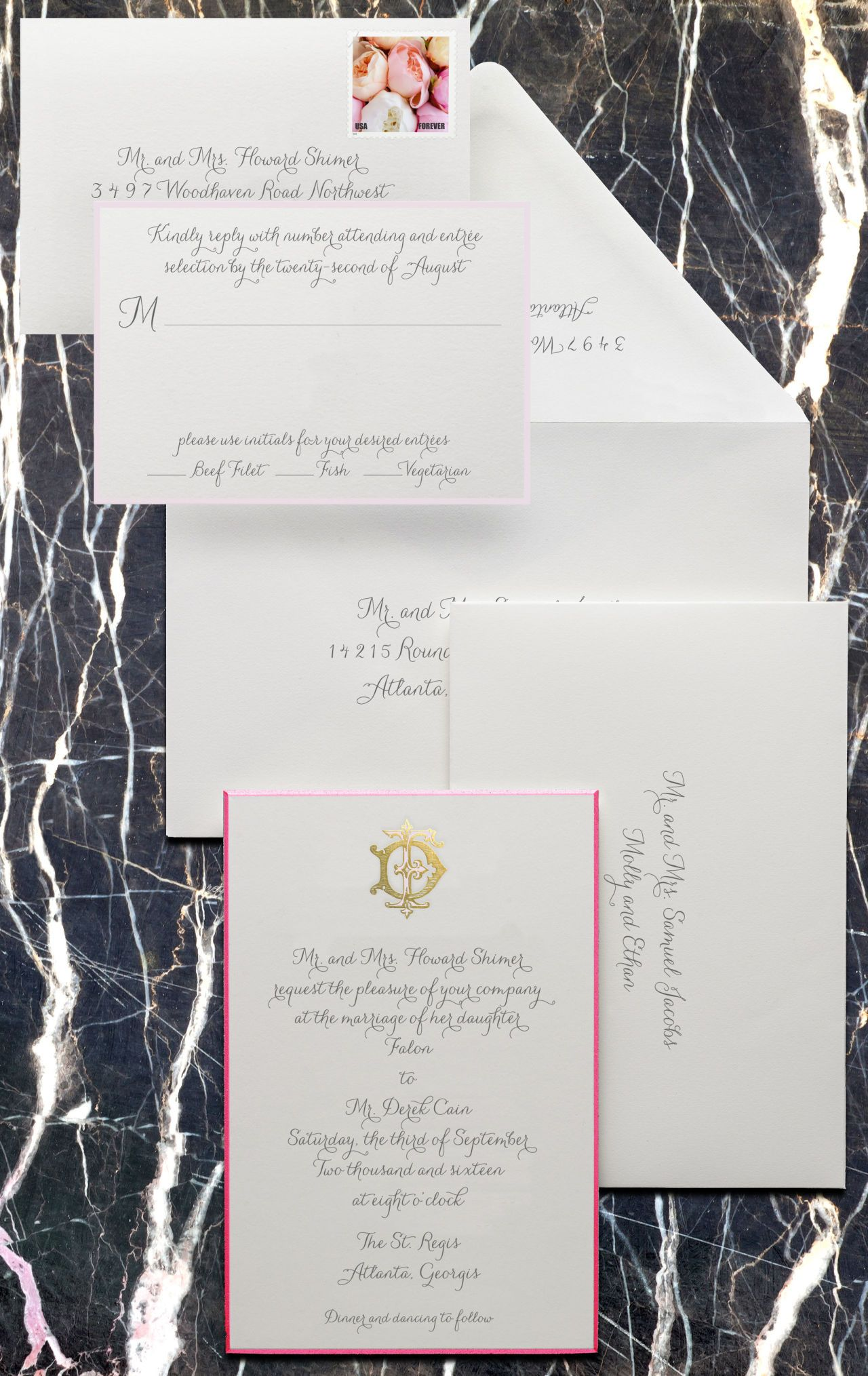 T&C Etiquette: How to Properly Write a Wedding Invitation | Wedding ...