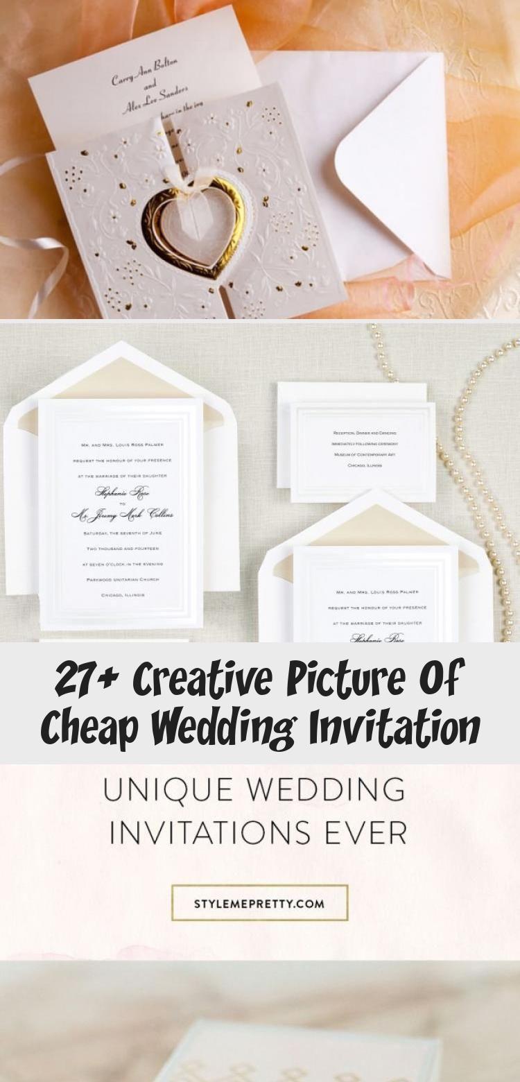 27 Creative Picture Of Cheap Wedding Invitation Cheap Wedding Invitations Cheap Wedding Invitations Diy Inexpensive Wedding Invitations