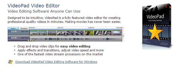 Save 66% Discount NCH VideoPad Video Editor Coupon and Promo