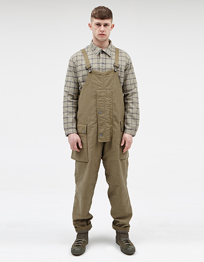 NAVAL DUNGAREE U.S ARMY GREEN