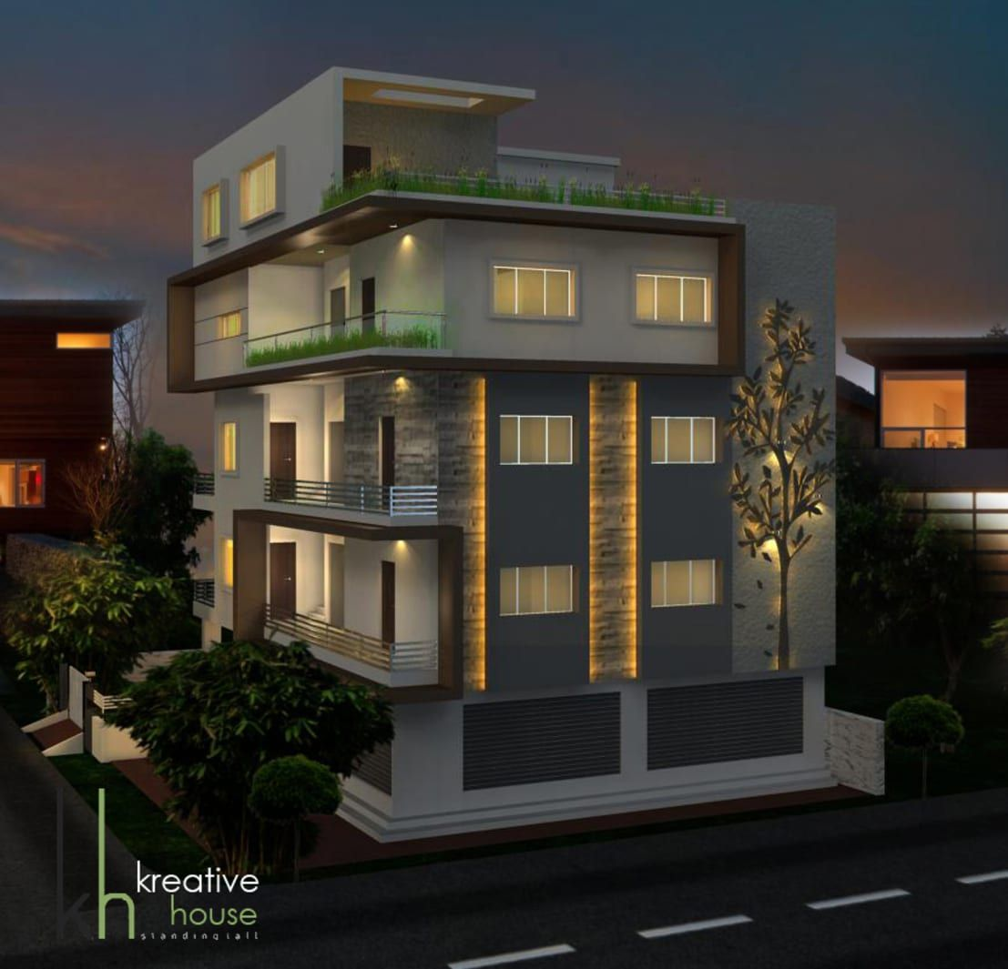 Independent Houses In India By KREATIVE HOUSE
