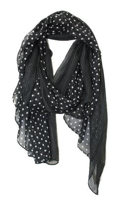 052d44705f9 polka dot scarf $24   Other Things I ♥   Polka dot scarf, Fashion ...