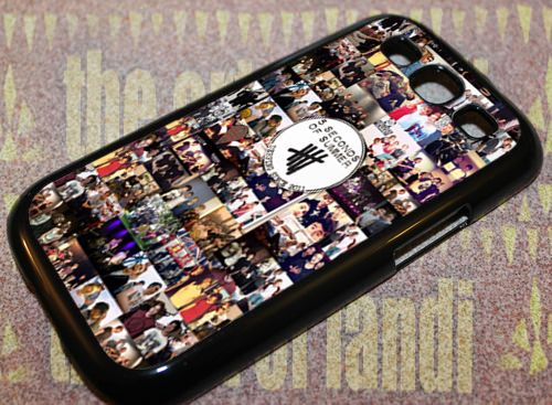 5 Seconds Of Summer Collage - For Samsung Galaxy S3 Black Case Cover