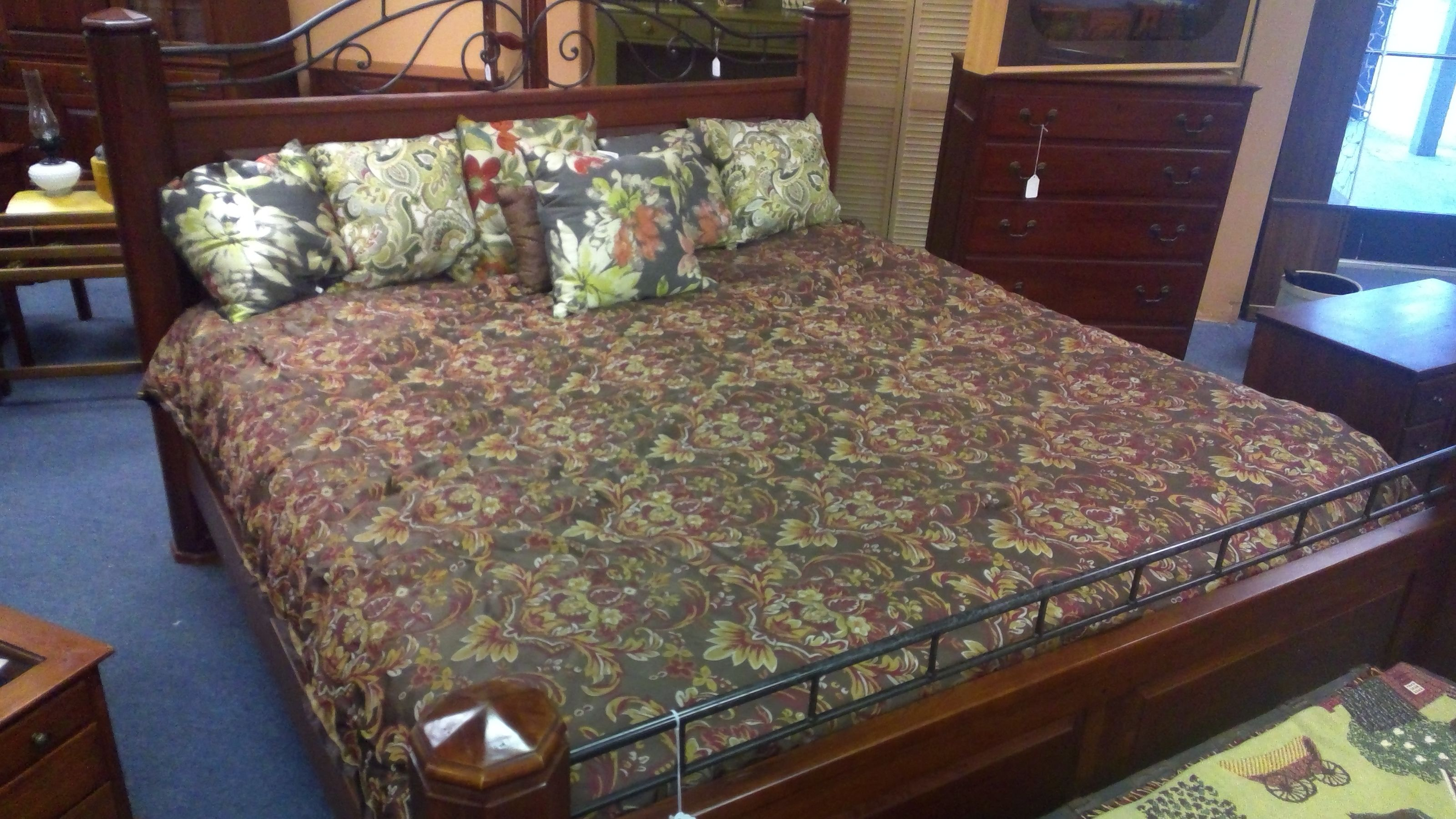 Bob Timberlake Rare Lexington 833 154 Cherry King Bed