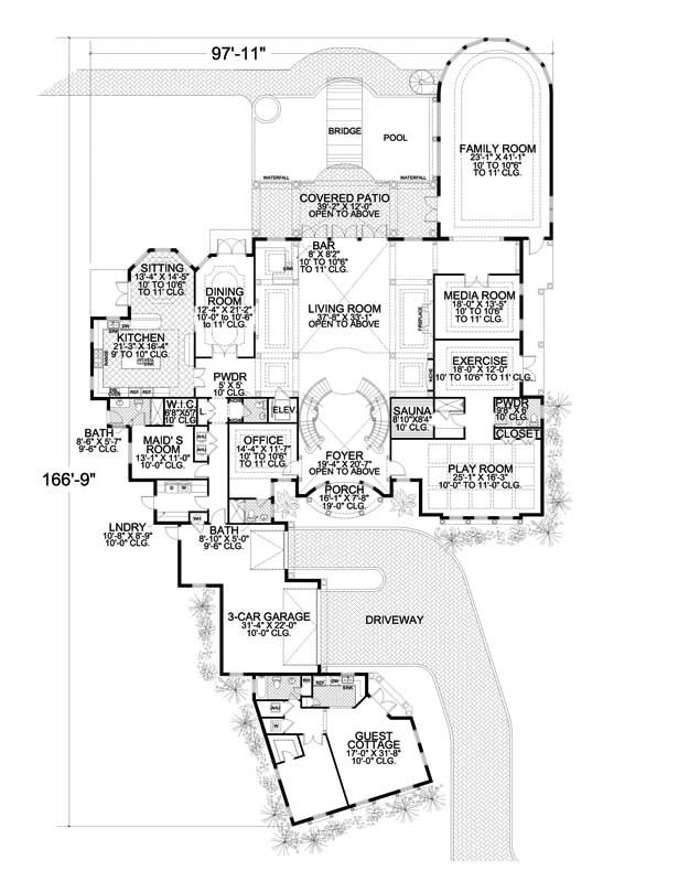 House Plans Home Plans And Floor Plans From Ultimate Plans Mediterranean Style House Plans Luxury House Plans How To Plan