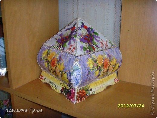 Ракушками морскими, как сделать вазу из открыток татьяна гром