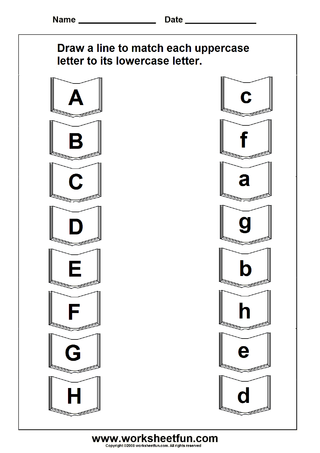 graphic about Upper and Lowercase Letters Printable identify uppercase lowercase letter Schooling Letter worksheets