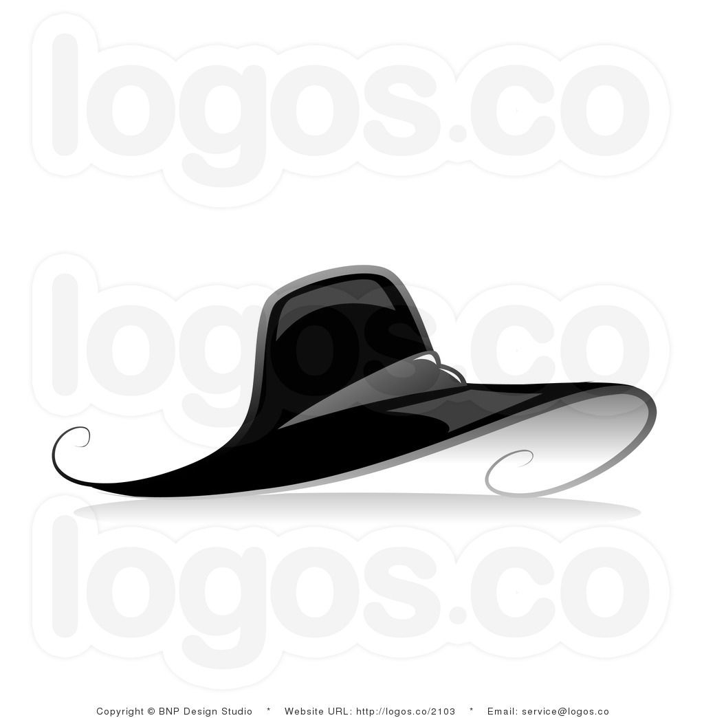Black And White Hat Black And White Hats Black White Fashion Vector Black And White