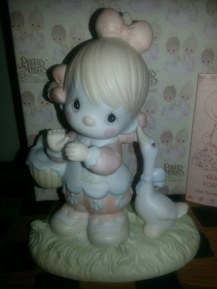 WADDLE I DO WITHOUT YOU ~ Clown Goose ~ 1985 ~ Precious Moments 12459