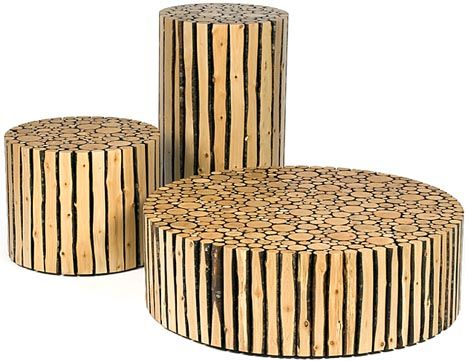 This set of alder-branch furniture objects by Brent Comber is compelling in  part precisely · Modern Wood FurnitureLog FurnitureFurniture IdeasReclaimed  ...