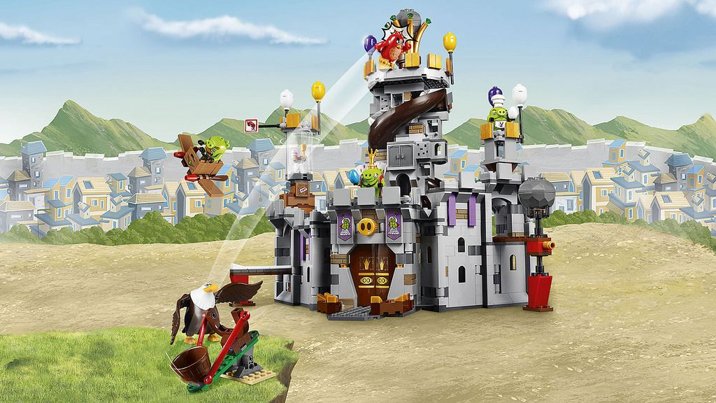 LEGO Angry Birds Movie 75286 King Pig's Castle