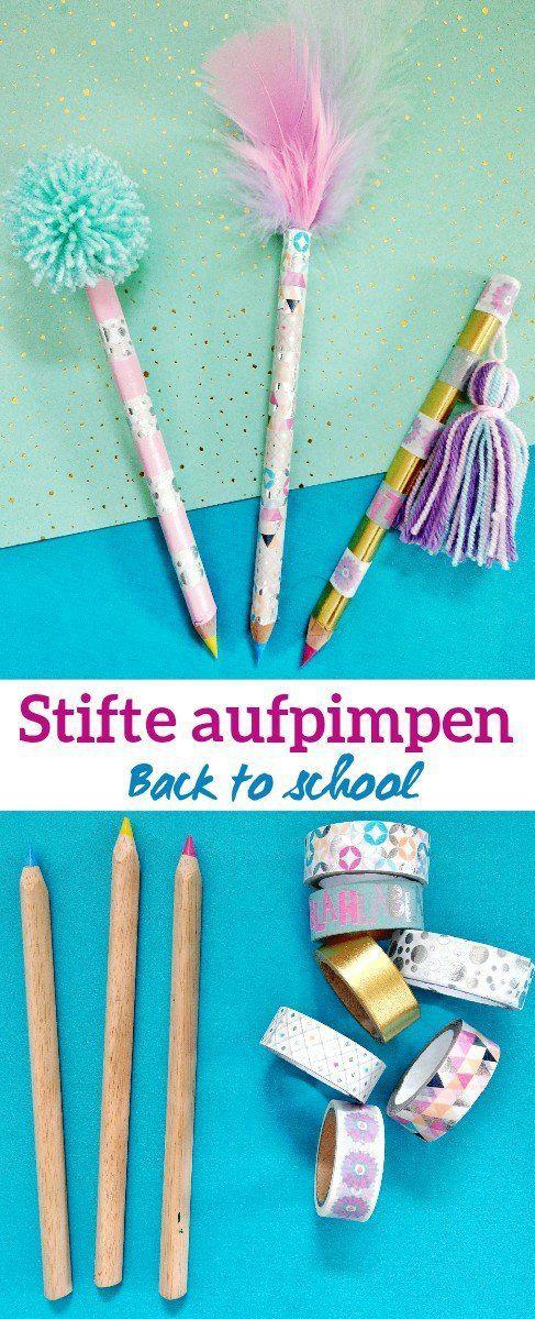 Drei Back to School DIY Ideen zum Nachmachen #backtoschool