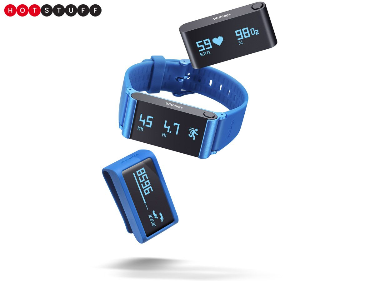 This Health Conscious Fitness Tracker Lets You Wear Your