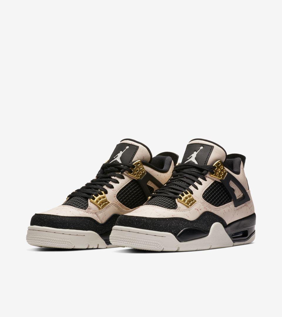Nike Women's Air Jordan 4 Splatter Pack 'Stilstone Red' Release ...