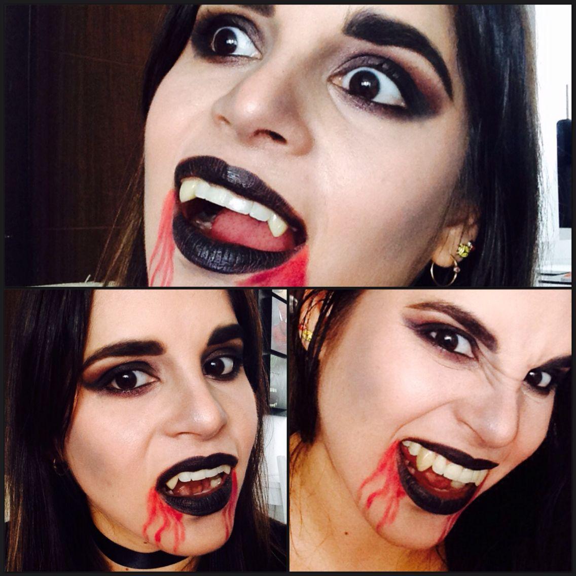 Maquillaje para Halloween vampiresa gótica byjipleo