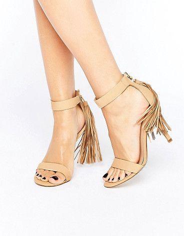 ALDO Celena Tassle Heel Sandal