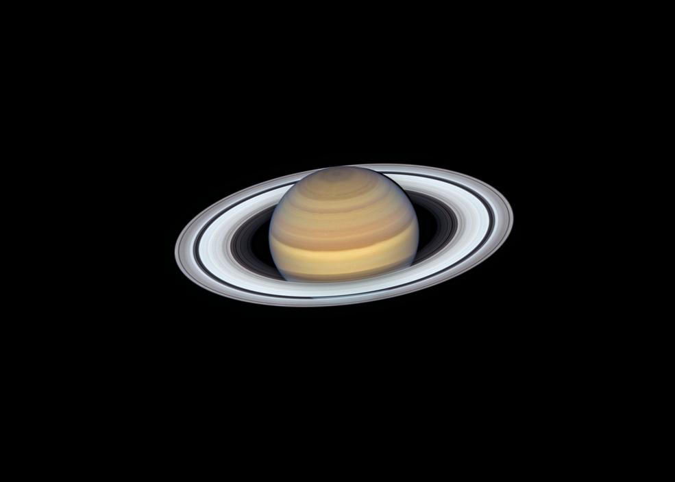 Saturn S Rings Shine In Hubble S Latest Portrait Hubble Space Telescope Space Telescope Nasa Hubble