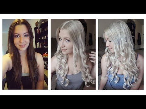 How To Get Blonde Hair To White Blonde Hair Tutorial It Works