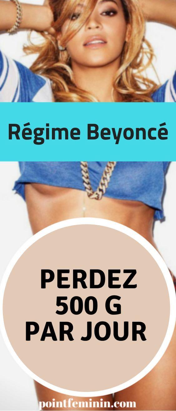Régime Beyoncé : Perdez 500 grammes par jour avec le