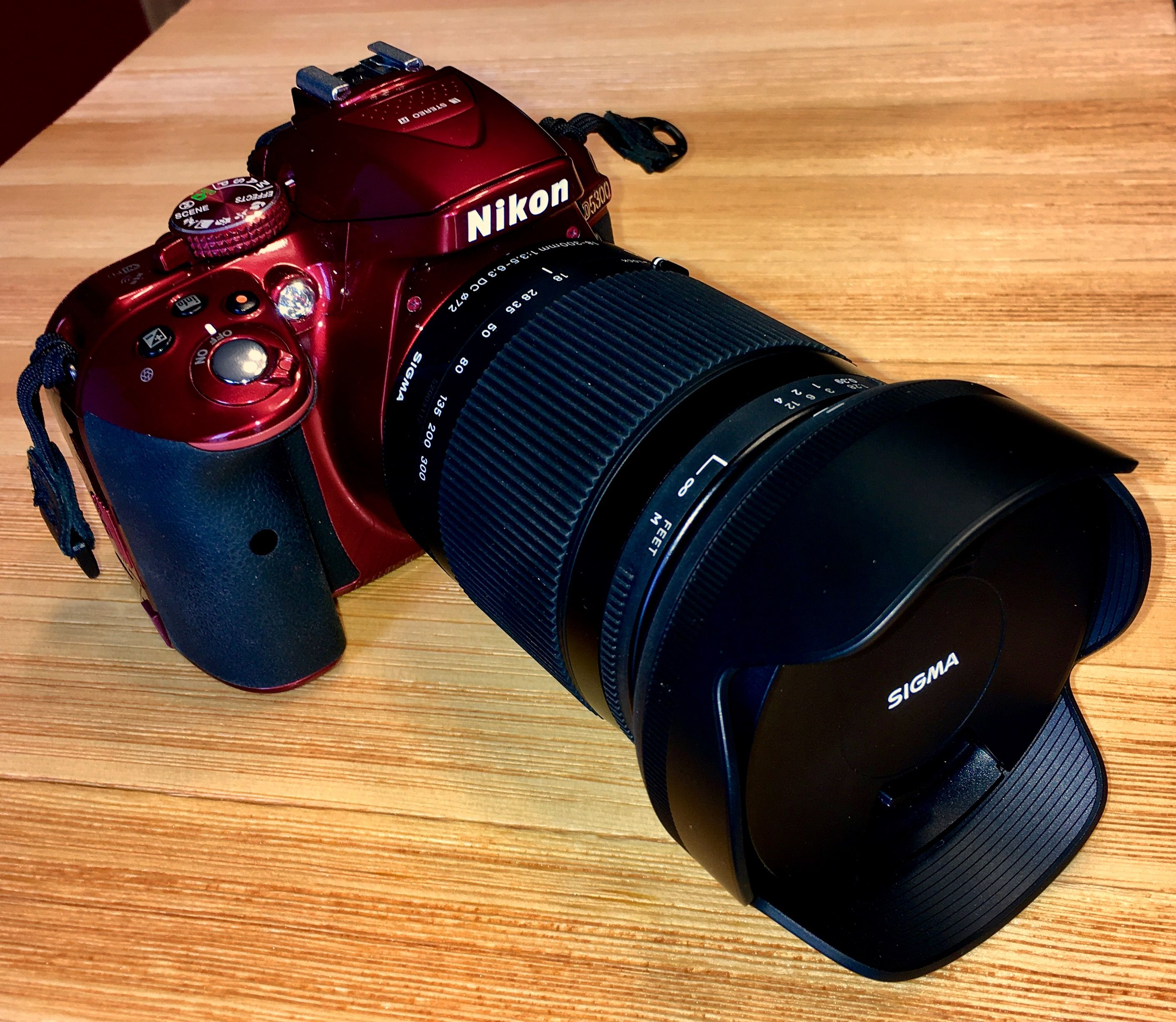 Nikon D5300 And Sigma 18 300mm F 3 5 6 3 Dc Macro Os Hsm Contemporary Lens 67mm Nikon D5300 Nikon Lens