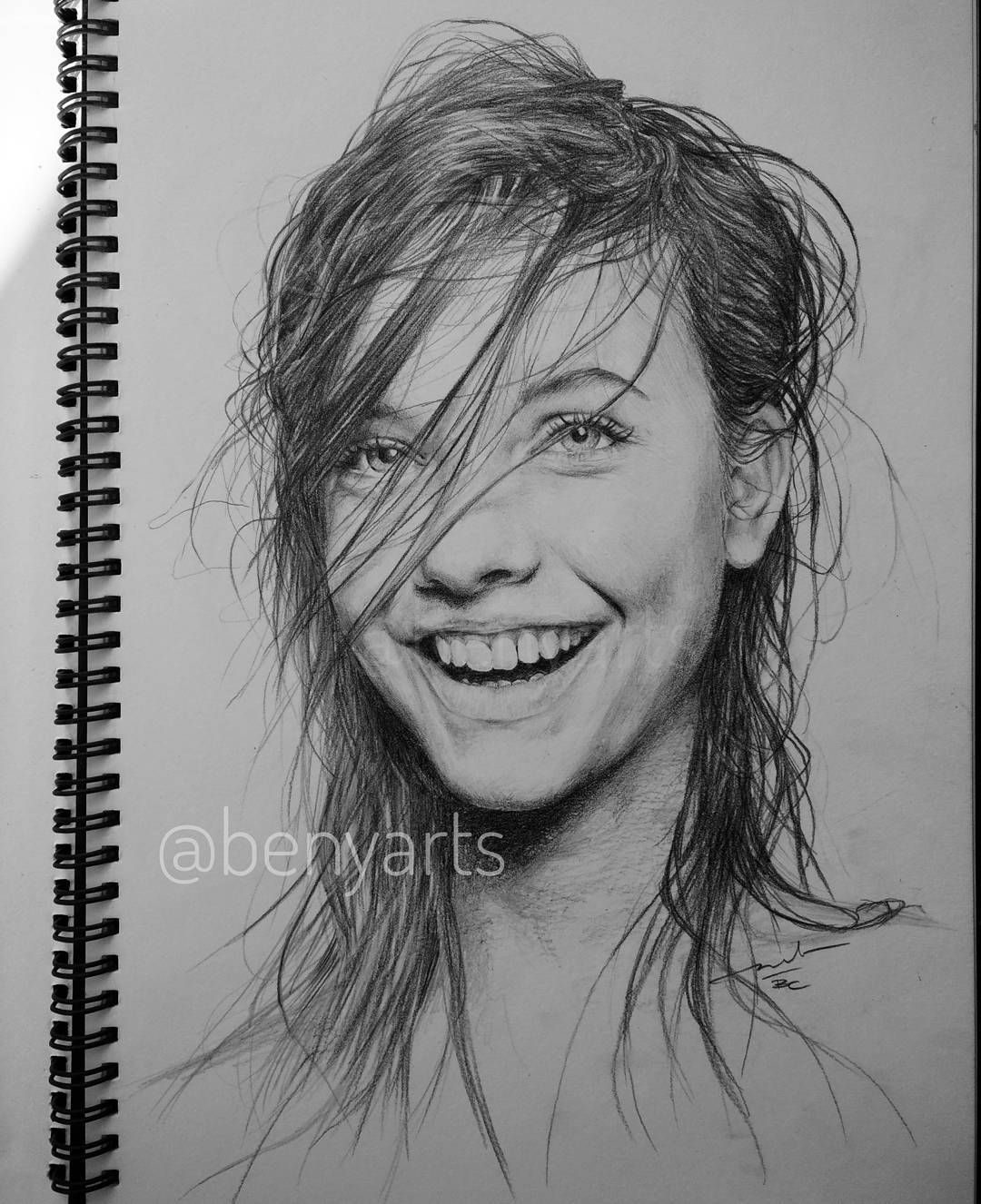 hand drawn portrait from your photo size  A5 CUSTOM coloured pencils PORTRAIT