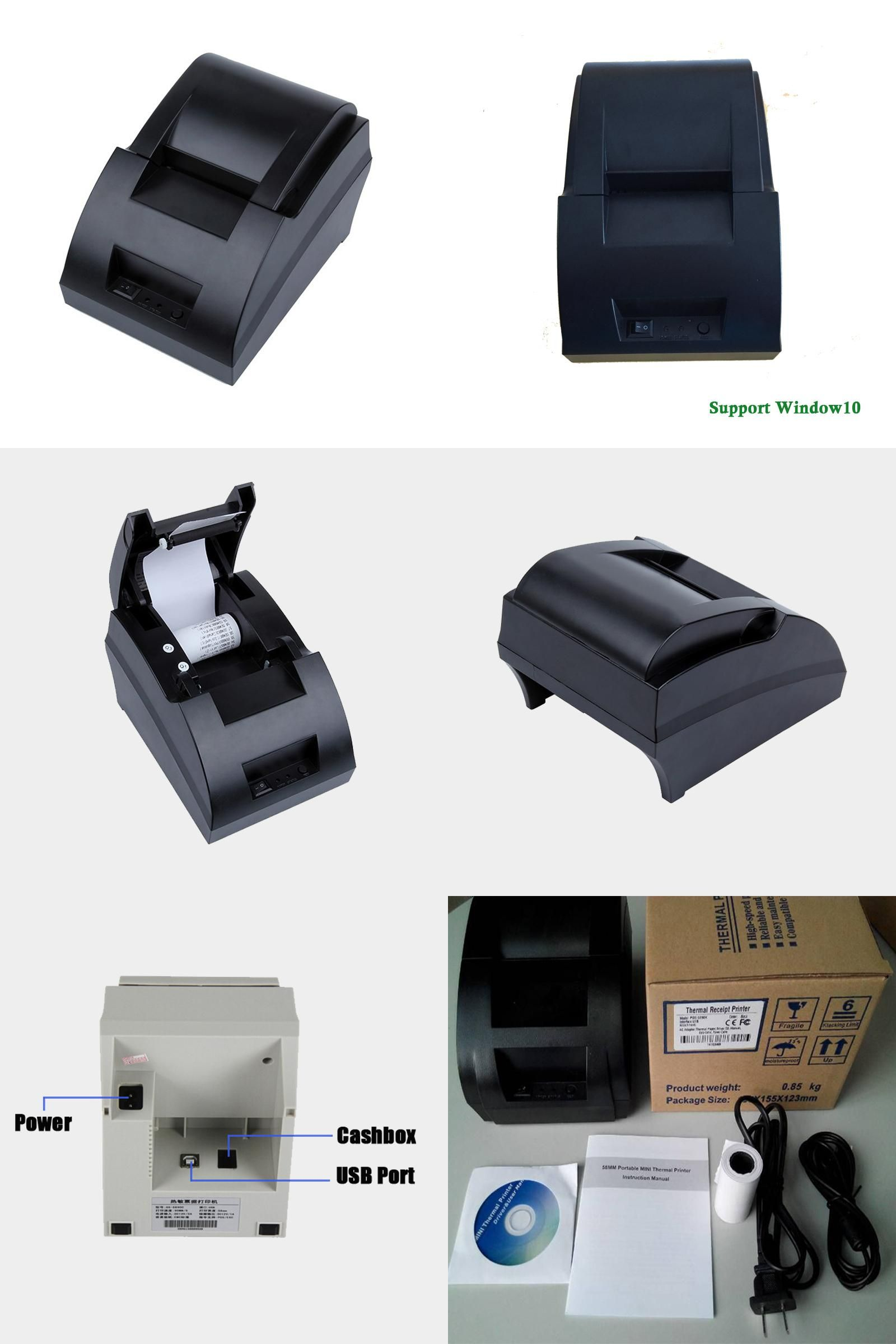 Visit to Buy] Cheapest thermal printer 58mm USB interface 589CU pos