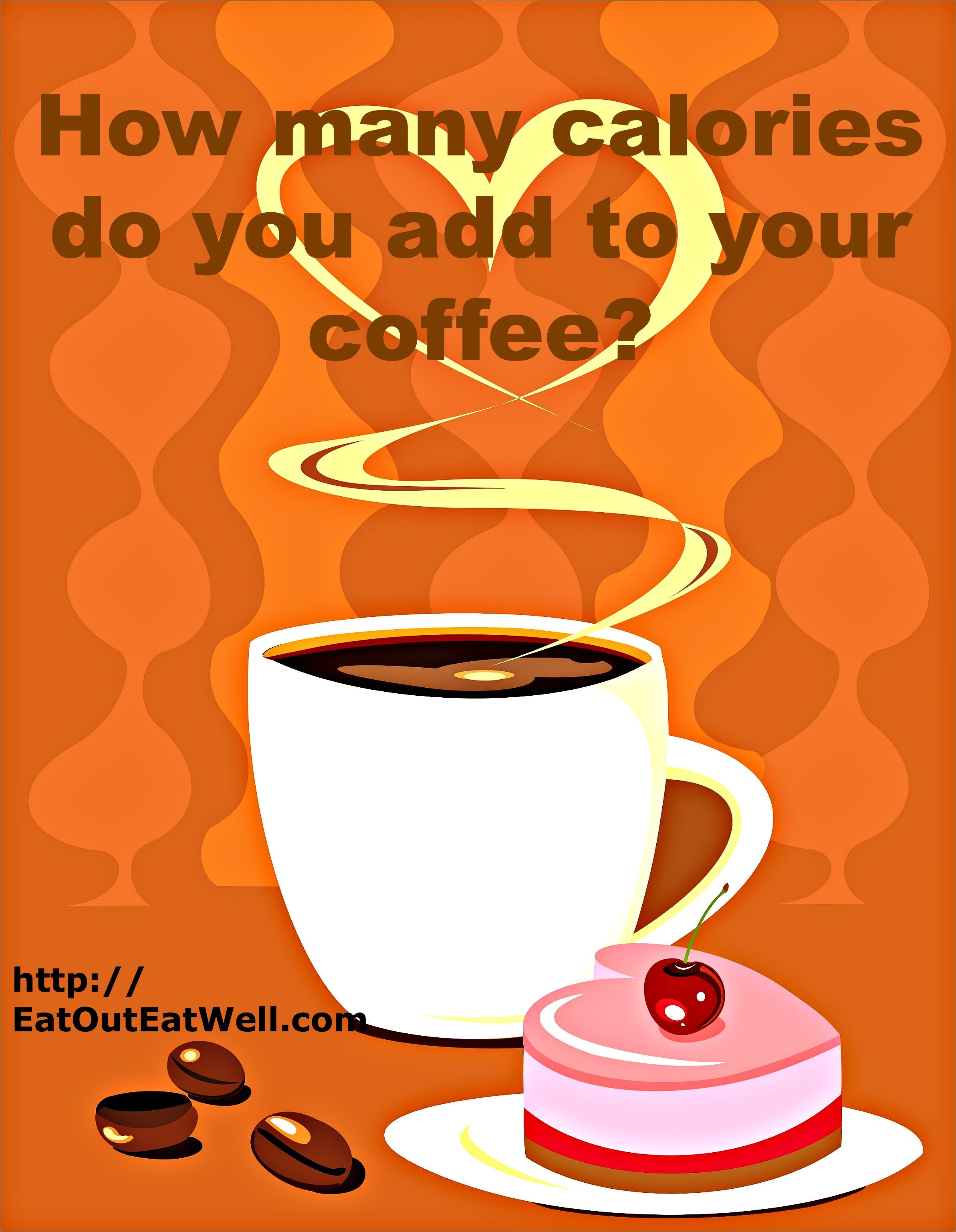 Is Your Coffee Or Tea Giving You A Muffin Top Eat Out Eat Well Coffee Calories Coffee Coffee Brewing