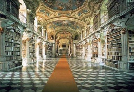 Biblioteca del Monasterio Benedictino de Admont - Autria