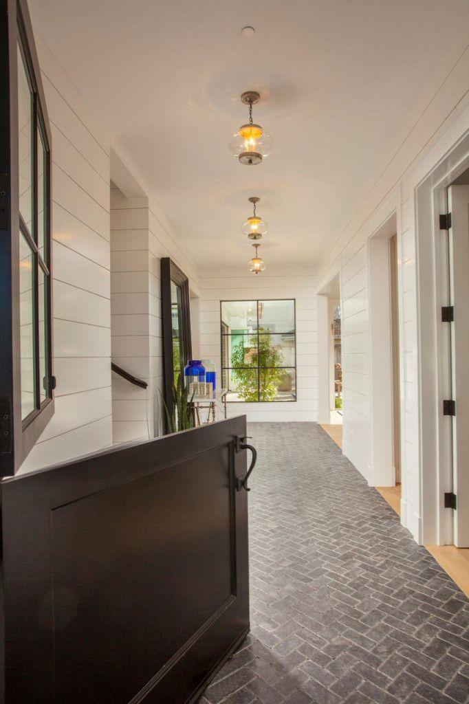 Newport-Harbor View | Brick flooring, Brick floor kitchen ...