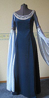 DawnDreams - The Age of Fantasy - Lotr Fantasy kostuum Arwen Requiem Dress