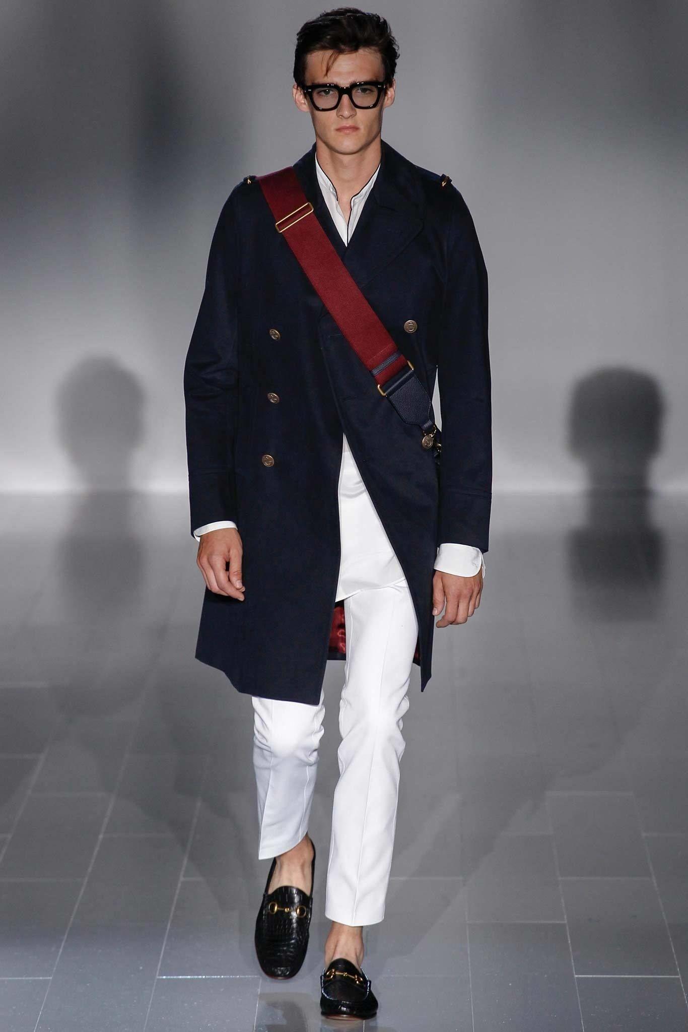 Gucci Spring 2015 Menswear Fashion Show Vêtements homme