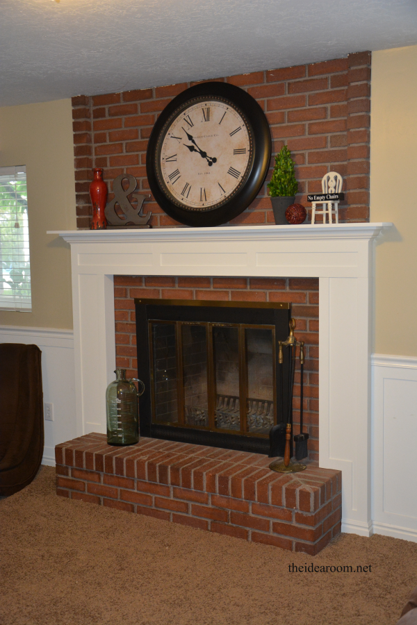 Diy Fireplace Mantel Home Fireplace Diy Fireplace Mantel Brick