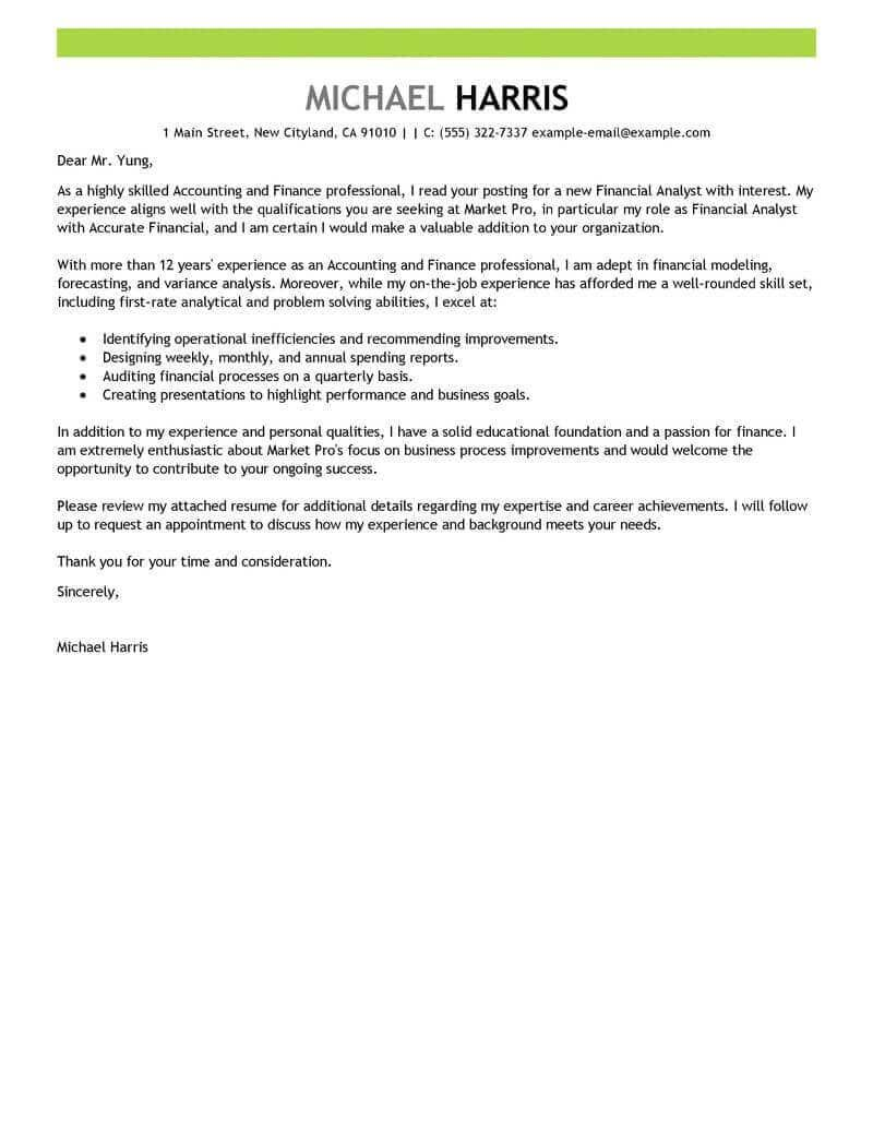 30 How To Write A Cover Letter For A Resume Cover Letter For