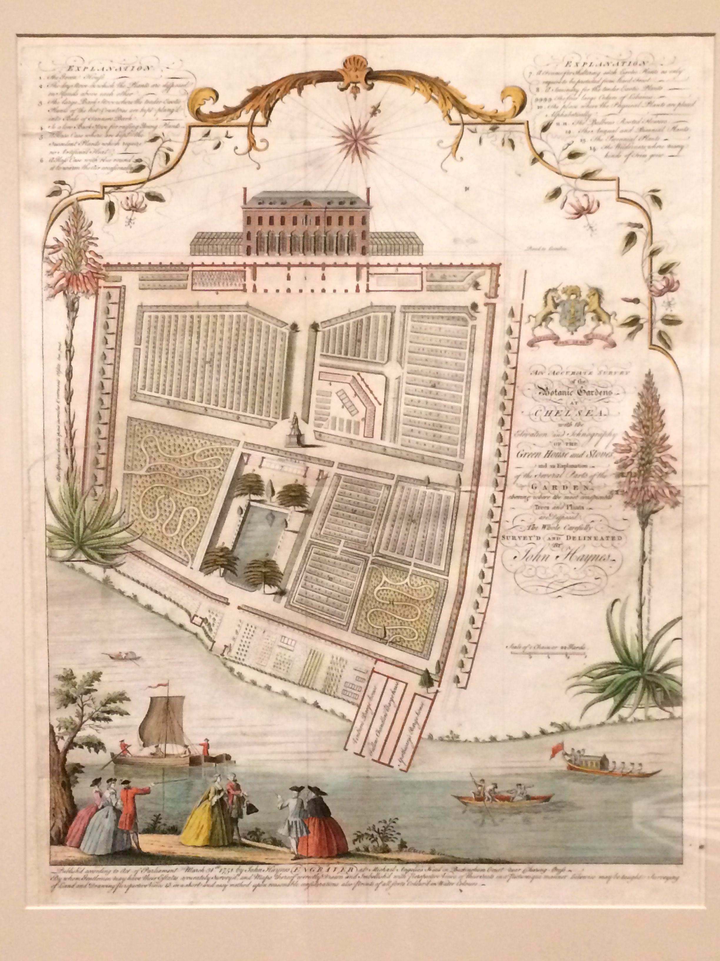 Botanical studies of Colonial Williamsburg, VA