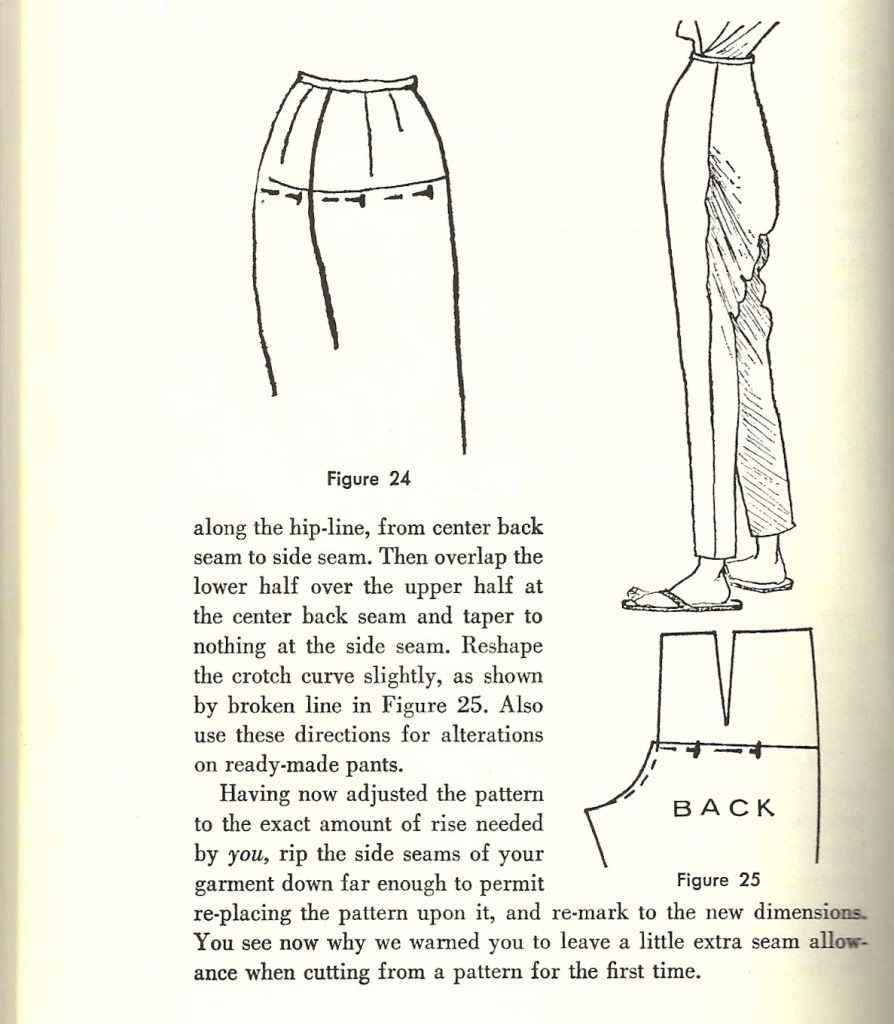 How To-sewing Pants That Fit