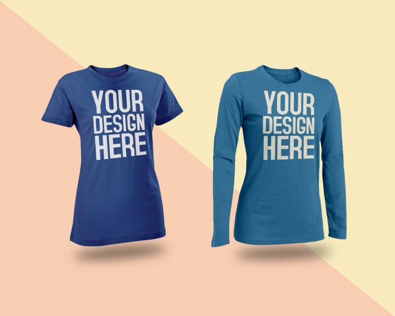 Download Female T Shirt Mockup Shirt Mockup Tshirt Mockup Portfolio Template Design