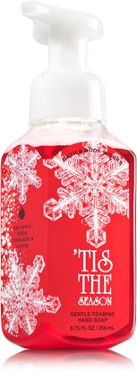 Tis The Season Gentle Foaming Hand Soap Soap Sanitizer Bath