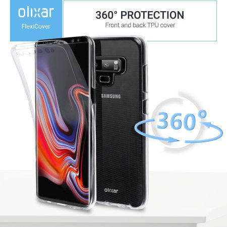 huge selection of 25bde 493c4 Samsung galaxy note 9 full cover case 360 protection olixar ...