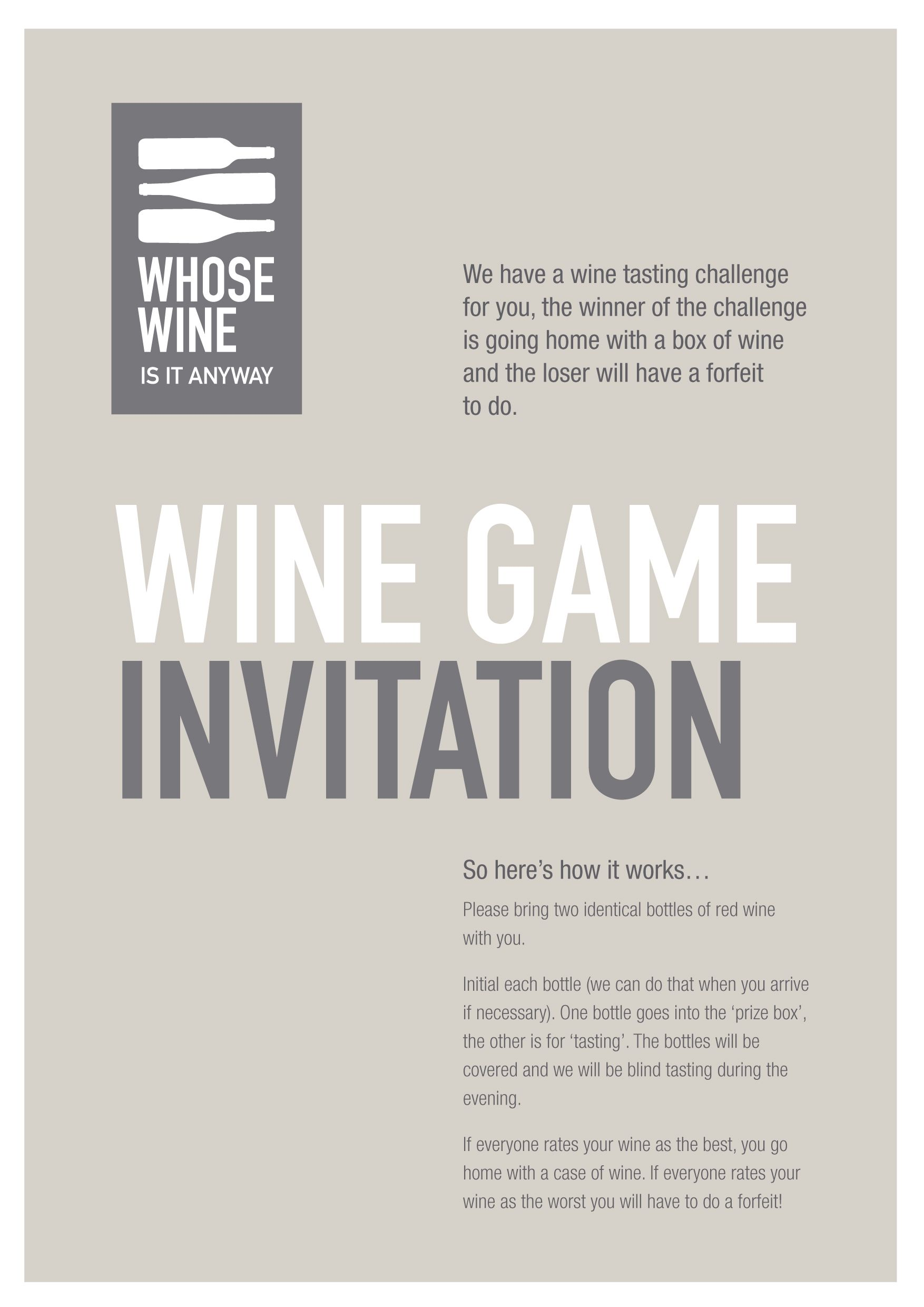 Exceptional Wine Tasting Party Invitation Wording 9 As Rustic ...
