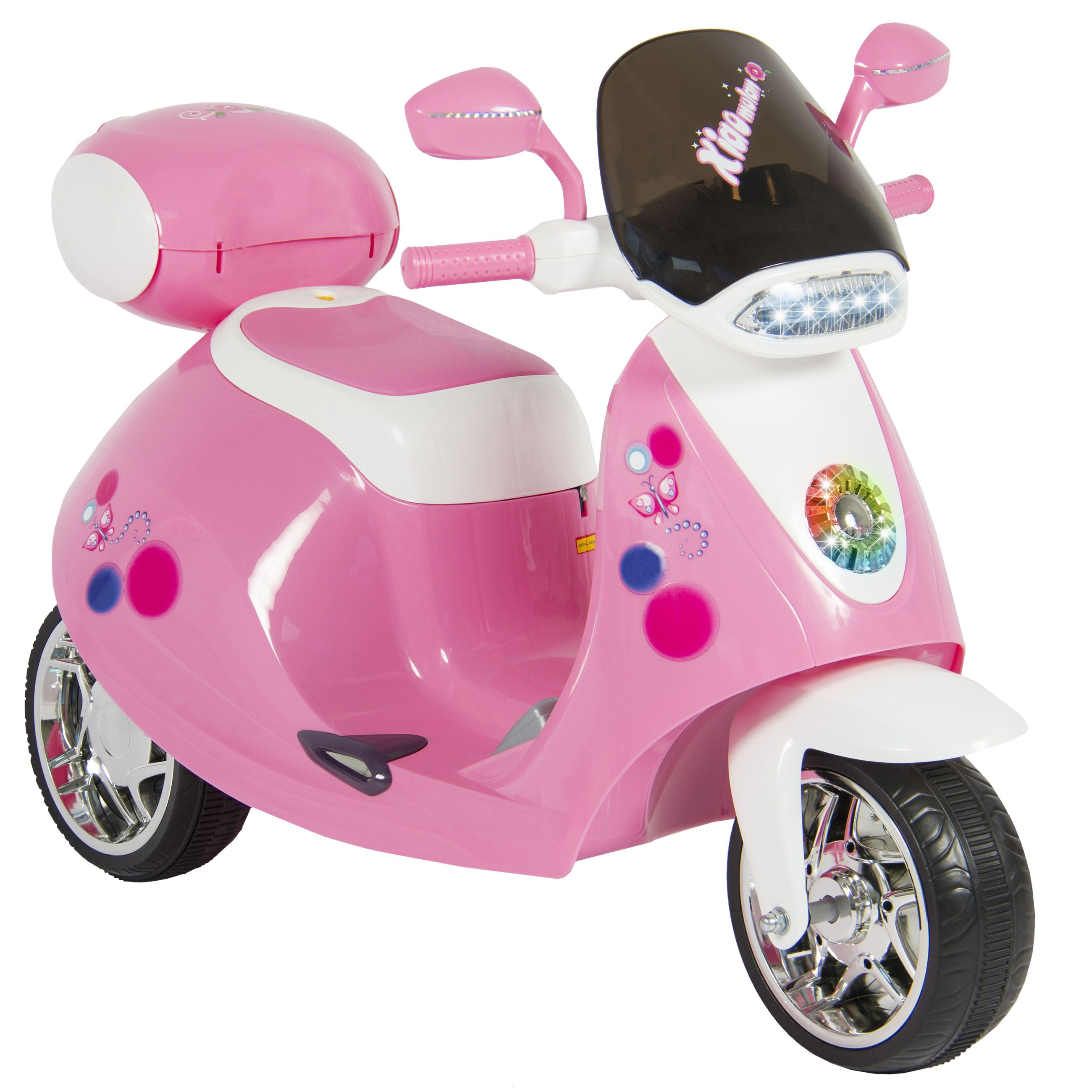 Minnie Mouse Mini Cooper Electric Ride On Car